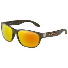 Rudy Project Sensor Glasses Ice Black/Multilaser Orange